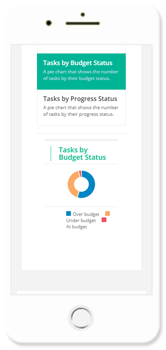 Fix and Flip Tasks by Budget Status